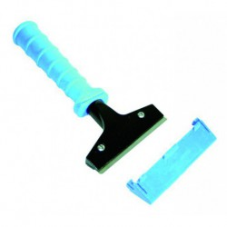 LEWI 10 cm surface scraper with plastic handle