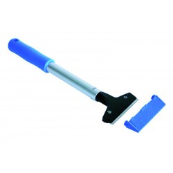 LEWI 10 cm surface scraper with 25 cm plastic handle