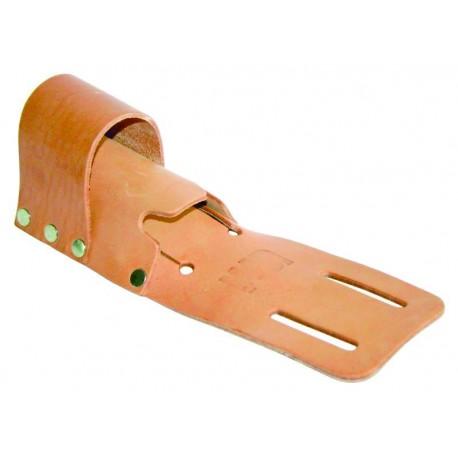 Porta-cabos de couro LEWI duplo