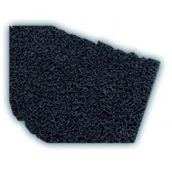 Vinyl loop doormat in black