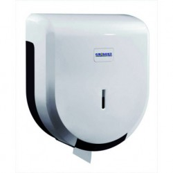 DIVASSI white industrial toilet-roll holder