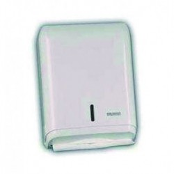 PRESTIGE ABS white paper towel dispenser