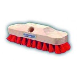 Fibre deck brush