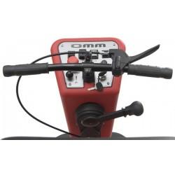 Esfregadora com baterias condutor sentado OMM SPARTACUS-660