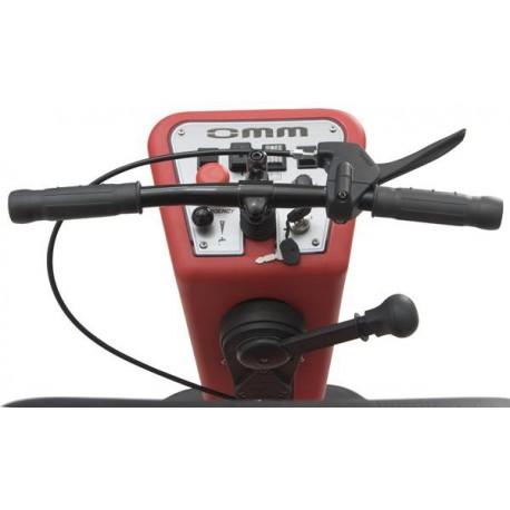 Fregadora con baterías conductor sentado OMM SPARTACUS-660