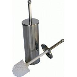 CROMADO metallic toilet brush and holder