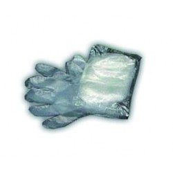 Pack of 100 polyethylene gloves