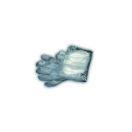 Pack of 100 polyethylene gloves
