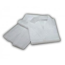 Pack de 10 batas de visita brancas
