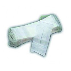 Pack of 100 white, 1-ply masks – food industry