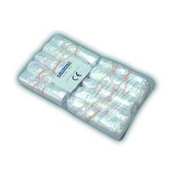 Pack de 100 mangas com elástico