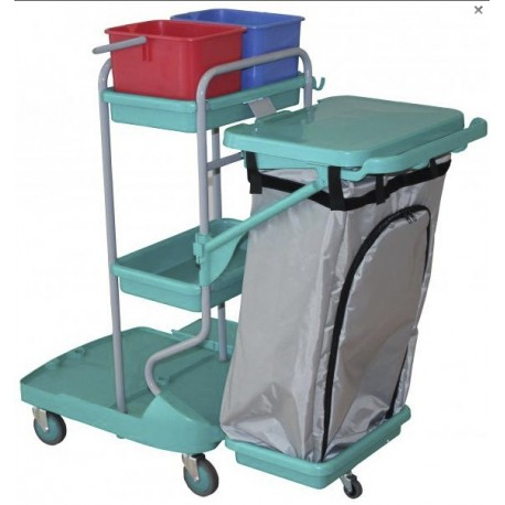 TOP EVOLUTION MEGA II cleaning trolley