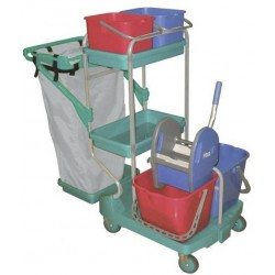 TOP EVOLUTION MEGA cleaning trolley