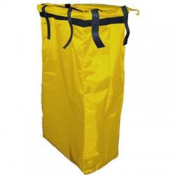 Saco amarelo TOP EVOLUTION PVC com velcro