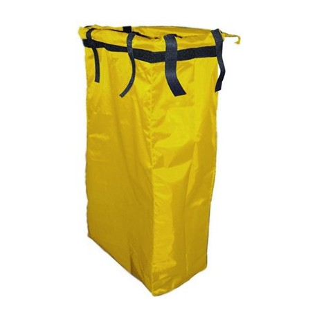 Saco amarillo TOP EVOLUTION PVC con velcro