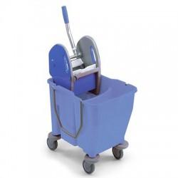 2x15-litre double deposit bucket with press