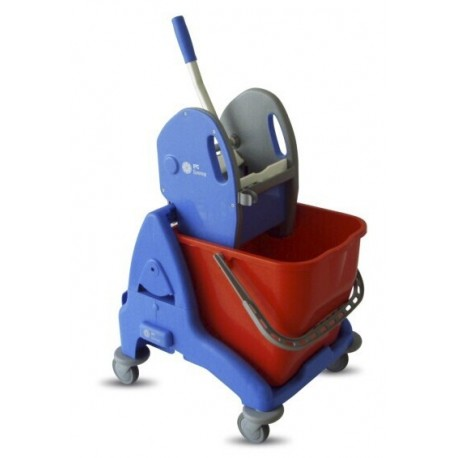 3P 25L single bucket mopping system with fibre base