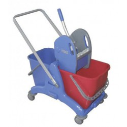 2P 25L double bucket mopping system with handlebar