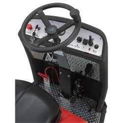 Fregadora con baterías conductor sentado OMM MAGNUM-1000