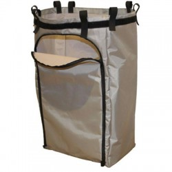 Grey 120-litre sack with zip (MAXI-I)