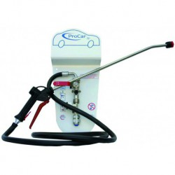 Spraying system for vehicles