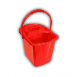 IT 12-litre rectangular bucket with wringer