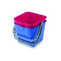 Cubo de polipropileno de 12 litros para carros ECO-VANEX