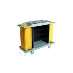 ECO-VANEX H-100 3-level linen trolley