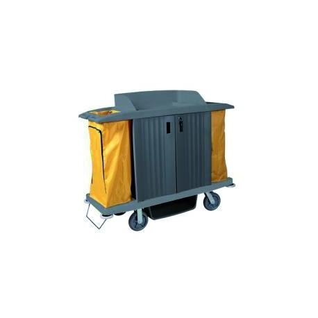 ECO-VANEX H-200 3-level linen trolley