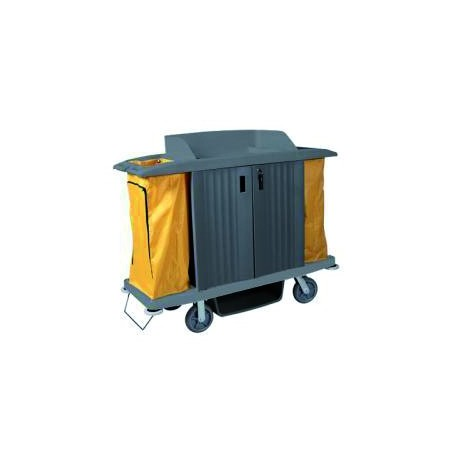 ECO-VANEX H-200 3-level linen trolley