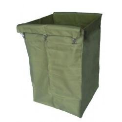 Saco de lona plastificada bege
