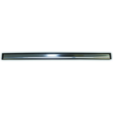 Stainless steel squeegee with rubber