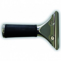 Stainless steel handle for window cleaning systems