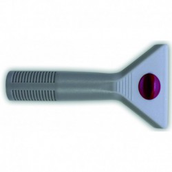 Plastic handle for window cleaning systems