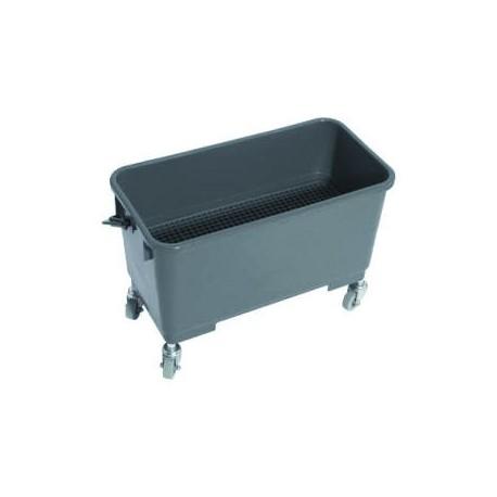 Window cleaning and polishing bucket