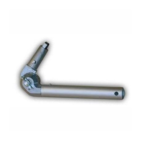 Codo de aluminio de articulación