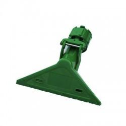Plastic clip for long handles