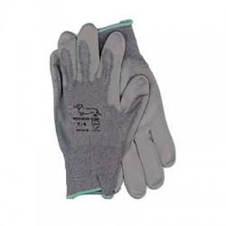 Semi-industrial nylon-polyurethane gloves