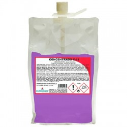 Limpador neutro Aroma MAÇÃ / Produto concentrado CONCENTRADO C-10