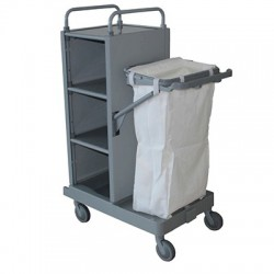 Housekeeping trolley MINI-1 ABIERTO