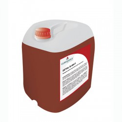Foaming alkaline detergent of high concentration DETIAL B-490-P