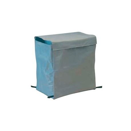 200 litres laundry canvas sack in grey