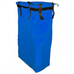 Saco azul TOP EVOLUTION PVC com velcro