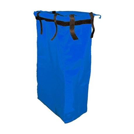 Saco azul TOP EVOLUTION PVC com velcro
