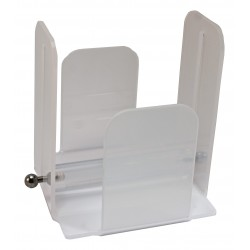 Napkin holder 20x20 white methacrylate with paperweight