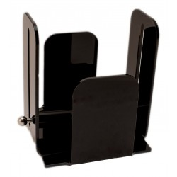 Napkin holder 20x20 methacrylate black color with paperweight