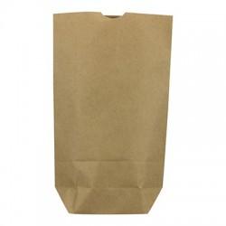 Caja 1000 bolsas papel kraft 45 gr 17x6x22 sin asas