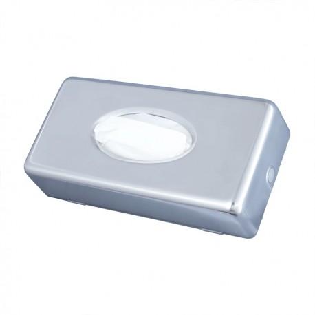 Stainless steel dispenser of polyethylene gloves