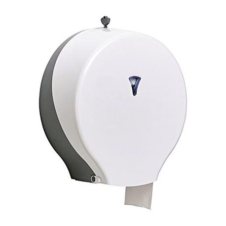 Portarrollos higiénico industrial ABS Blanco Mod. EUROTEC