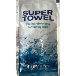 SUPER TOWEL Refreshing wipe